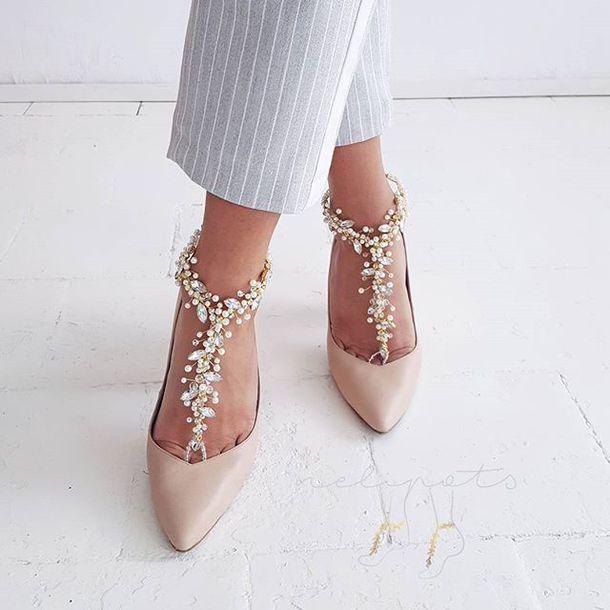 f35b7db83f8a jewels anklet ankle bracelet barefoot sandals beach bride beach wedding  beach wedding shoes wedding shoes bridal