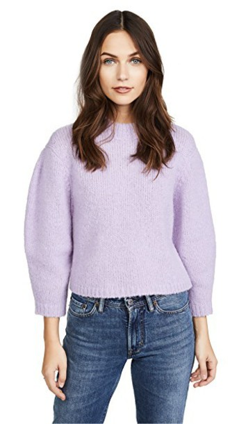 Tibi sweater cropped sweater cropped