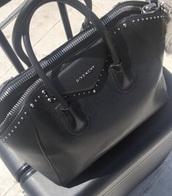 bag,givenchy,studdded