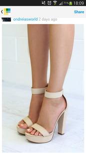 high heels,heels,strappy heels,sandals,sandal heels,nude high heels,leather sandals,minimalist shoes