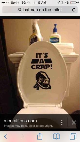 home accessory bathroom funny