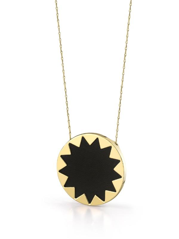 Sunburst pendant necklace aloadofball Images