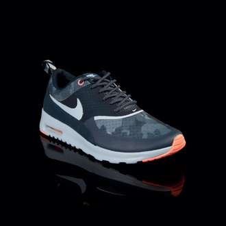 shoes navy orange air max nike air max thea exclusive