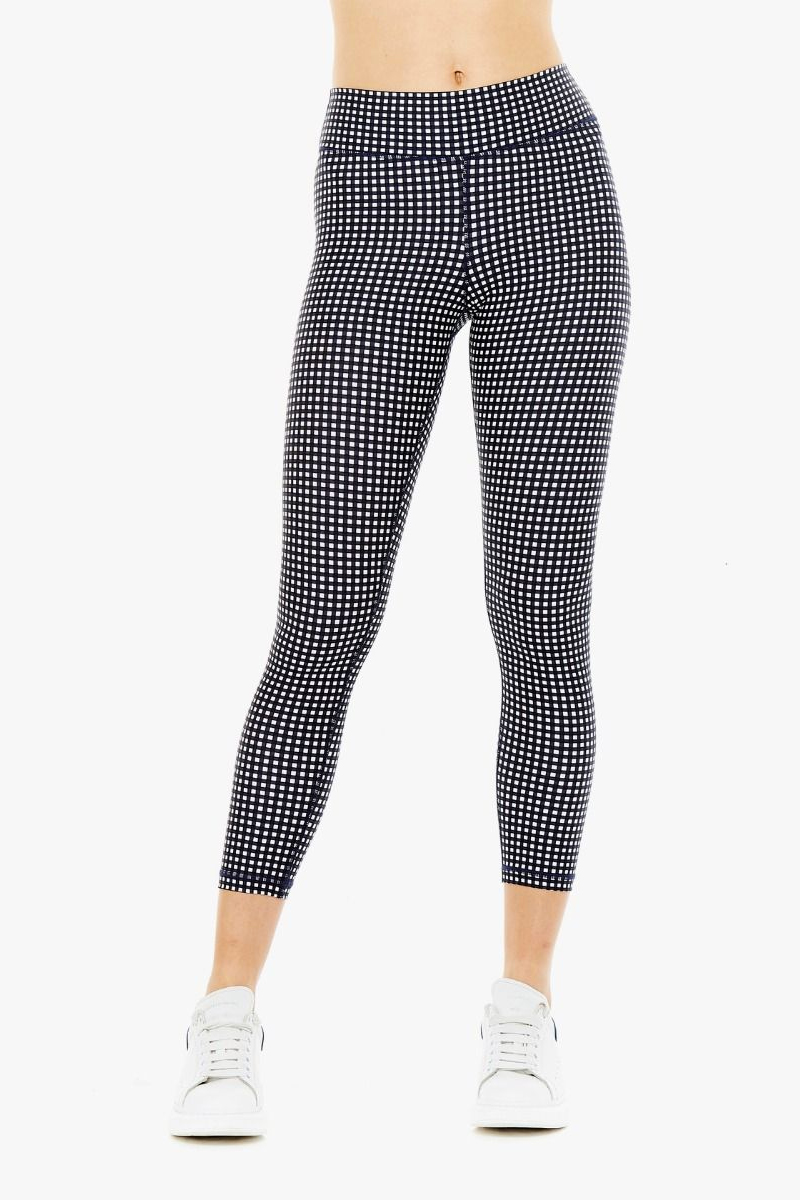 The Upside Gingham Midi Pant