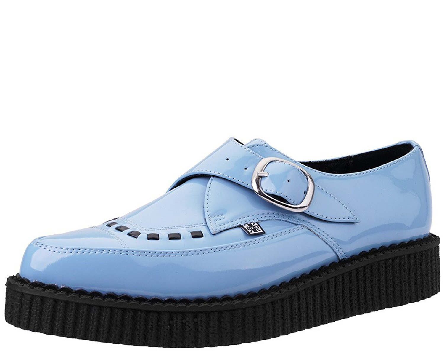 ceaa997de328d Amazon.com | T.U.K. - Unisex - Baby Blue Patent Pointed Creeper | Shoes