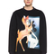 Givenchy | bambi print viscose sweatshirt in black