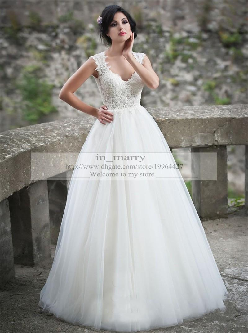 Charming Plus Size Wedding Dresses Discount 2016 A Line