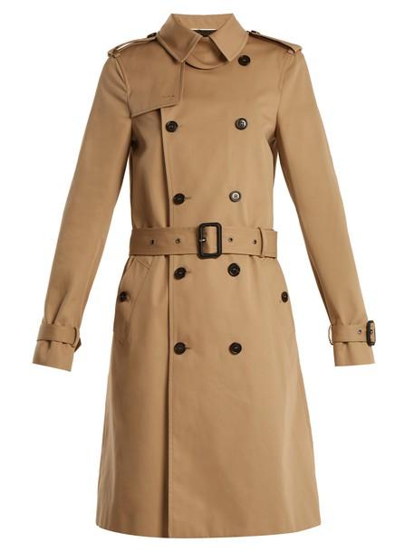 Saint Laurent coat trench coat beige