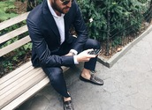 we wore what,blogger,jewels,sunglasses,shoes,menswear,classy,loafers