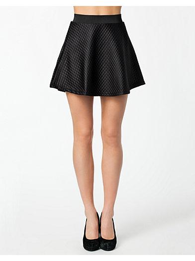 Jimmy Coated Skater Skirt - Vero Moda - Black - Skirts - Clothing - Women - Nelly.com Uk