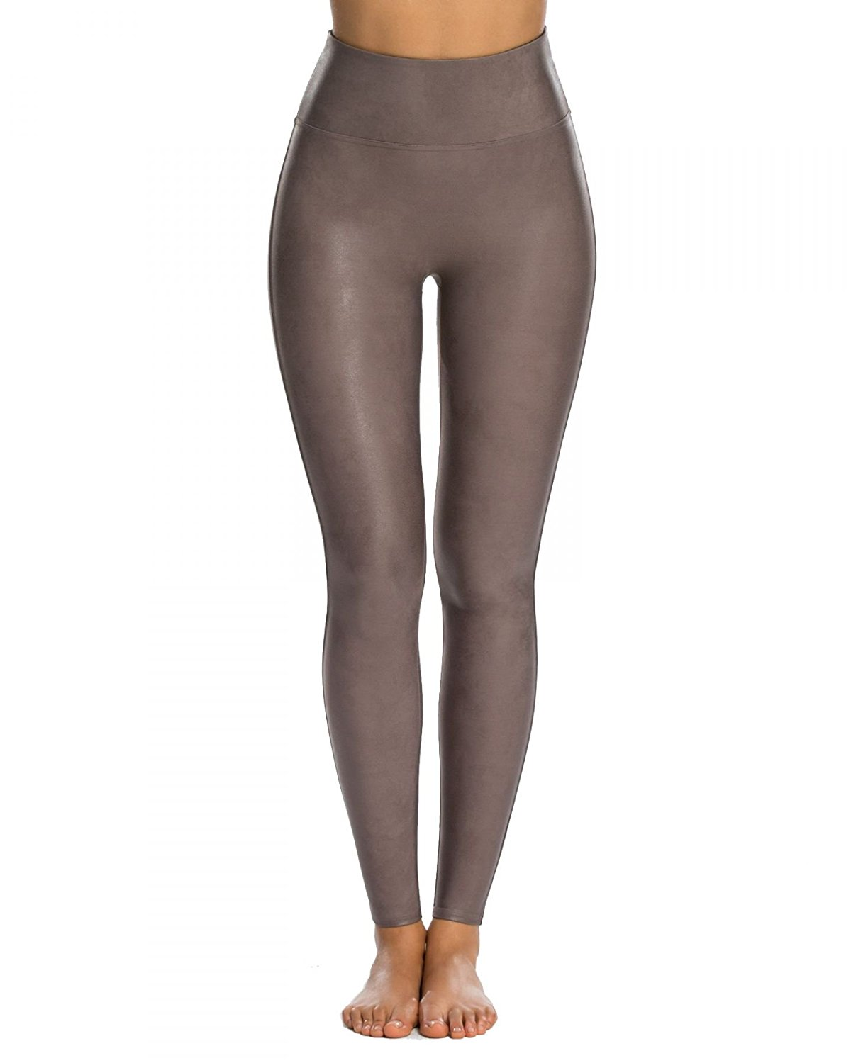 944d32b0f47a2 SPANX Ready-to-Wow Faux Leather Leggings, XL, Antique Rose at ...