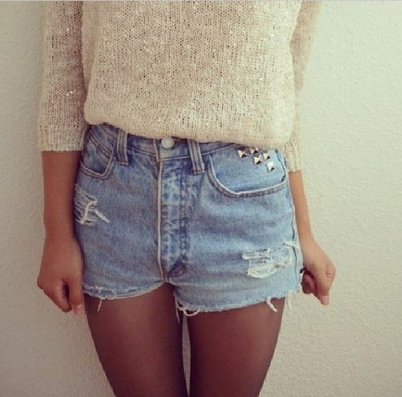 sweater pull short