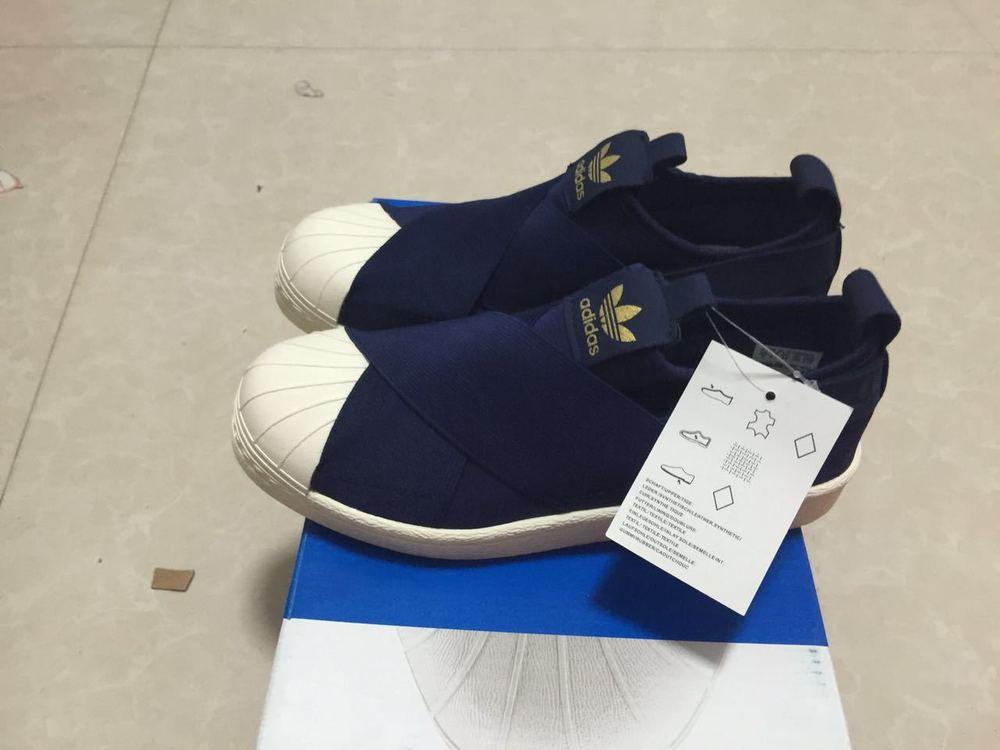best sneakers 19199 9a85e Adidas Superstar Slip-On Blue Skateboarding Shoes