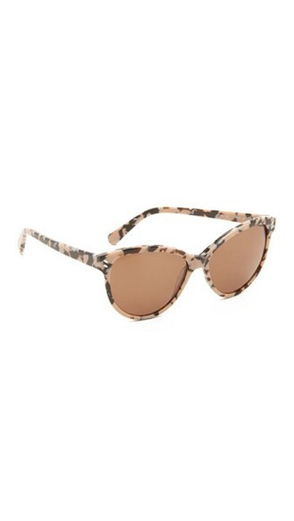 classic sunglasses pink brown