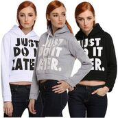 top,white,black,grey,gray cropped hoodie,white cropped hoodie,cropped,cropped sweater,just do it,just do it hoodie,nike letters hoodie,nike hoodie,letters,letters hoodie,long sleeves,sportswear,sport top,hoodie,casual,casual hoodie,niek logo,sweats,sweatshirt,sportswear top,joggers,tracksuit,joggers top,sweats top,grey sweatpants,streetwear,streetstyle,urban,preppy top,preppy sport,fitness,musthave,must-have,cropped pullover,crop tops,crop,cropped t-shirt,tumblr,tumblr top,tumblr preppy,moraki,blouse,28719,sweater,cropped hoodie,just do it pullover,casual hoodie set