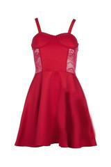 Sirenlondon — cherry bustier dress