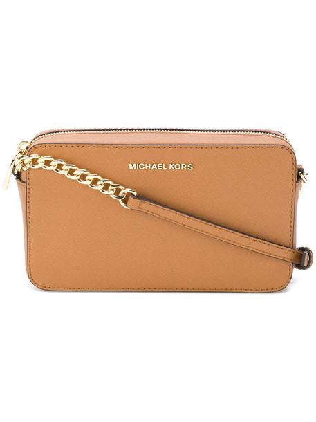 MICHAEL Michael Kors women bag leather brown