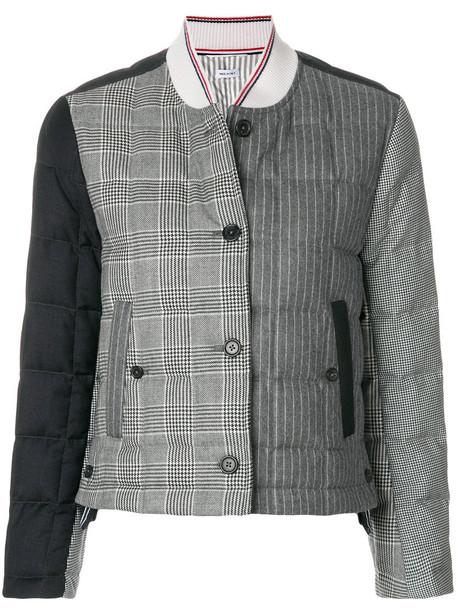 jacket women wool grey
