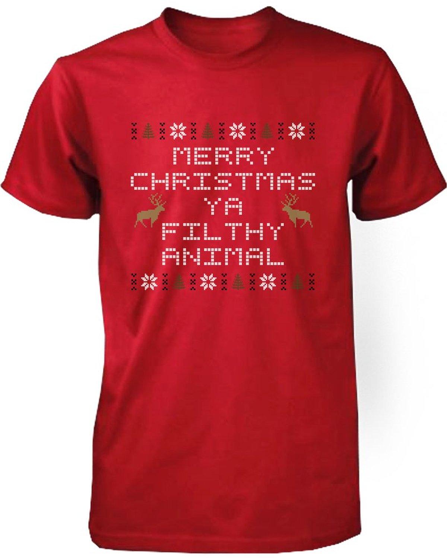 Merry Christmas Ya Filthy Animal Shirt Amazon 104