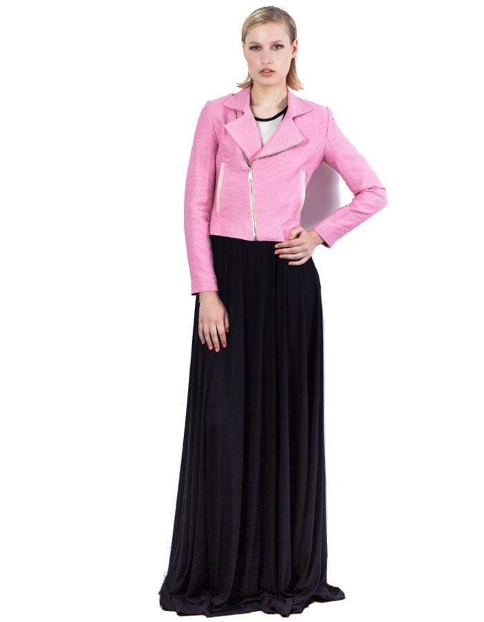 Perfecto Jacquard en rosa