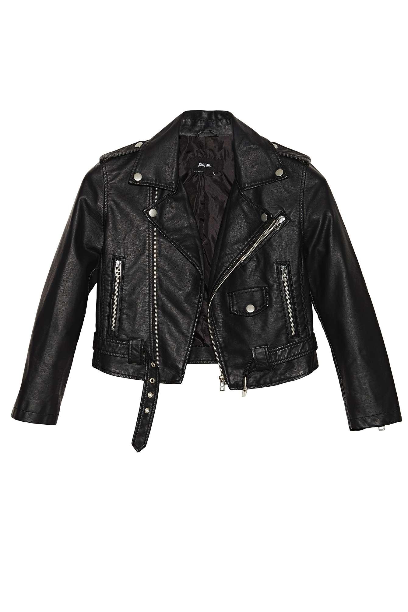 Nasty gal moto zip crop jacket