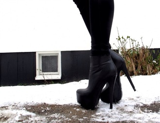 black boots black ankle boots ankle boots high heeled boots high heels high heels black