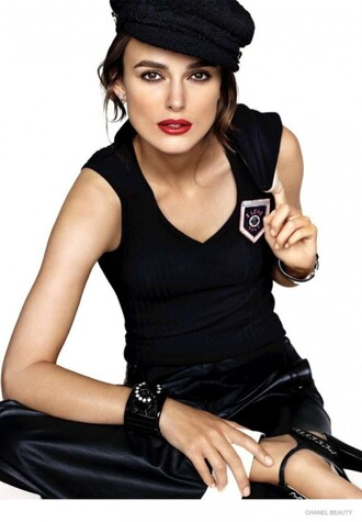 make-up keira knightley hat make up top