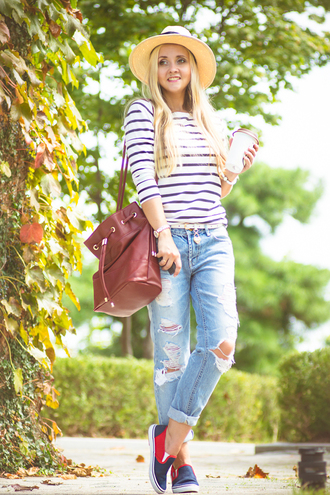 my blonde gal blogger bag jeans