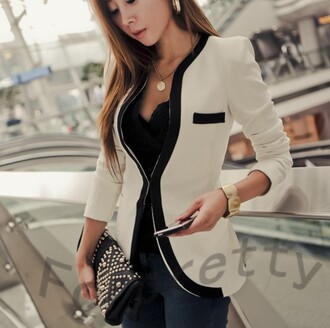 top blazer white white blazer white and black blazer black and white black and white blazer black