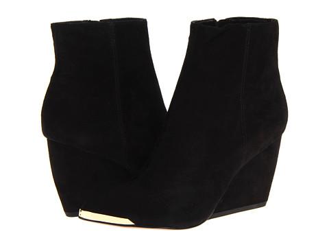 Rachel Zoe Nadia Black Suede - Zappos Couture