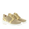 Michael michael kors amanda trainer mesh pale gold sneakers at fashionette