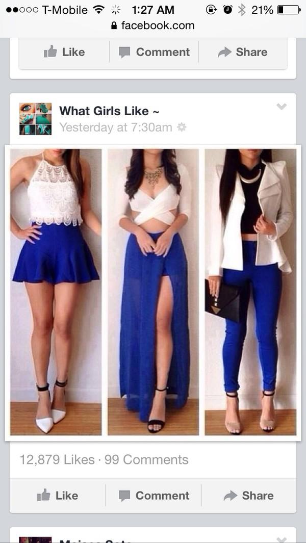 blouse white crop tops top skirt dress blue skirt summer dress pretty elegant india love india westbrooks