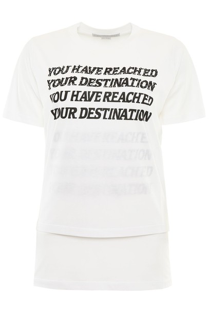 t-shirt shirt t-shirt print white top