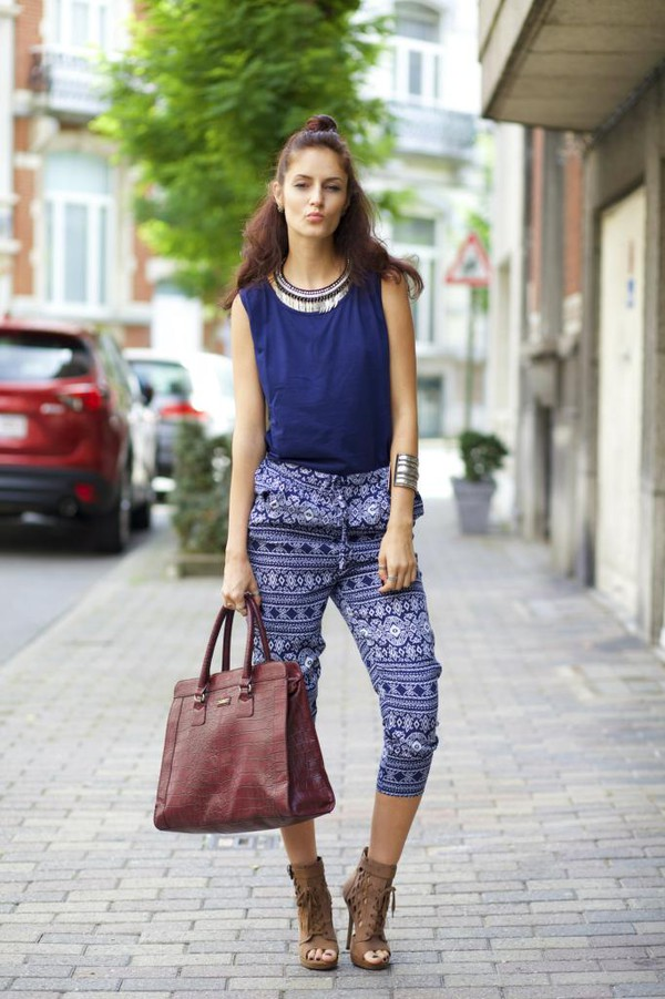 from brussels with love blogger jumpsuit bag