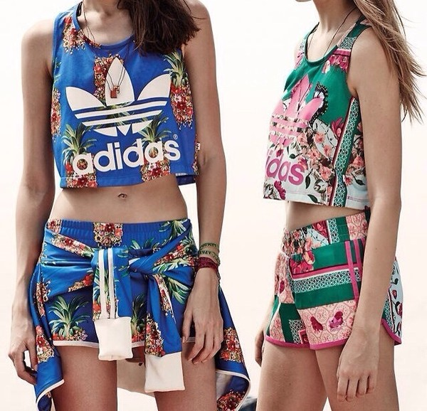 shirt adidas shorts