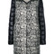 Herno - printed padded coat - women - feather down/polyamide - 46, feather down/polyamide
