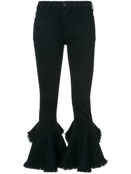 CITIZENS OF HUMANITY jeans cropped women cotton black 24