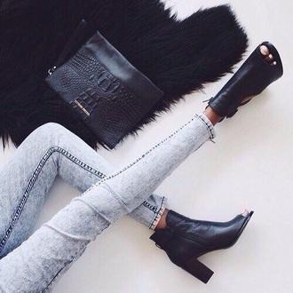 bag black bag black shoes jeans