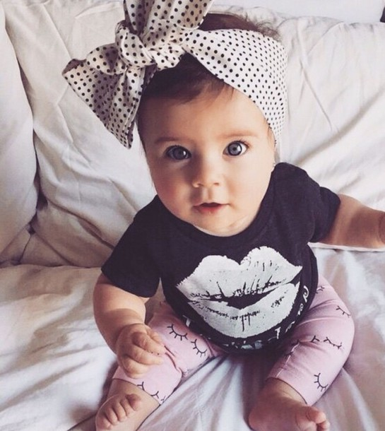 leggings baby clothing girly shirt
