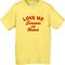 Love me forever or never t-shirt - teenamycs