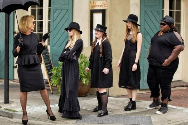 dress goth black dress american horror story ahs coven