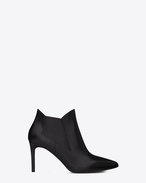 Saint laurent classic paris 80 chelsea ankle boot in black leather