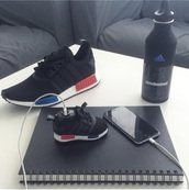 shoes,black,red,blue,adidas,portable charger