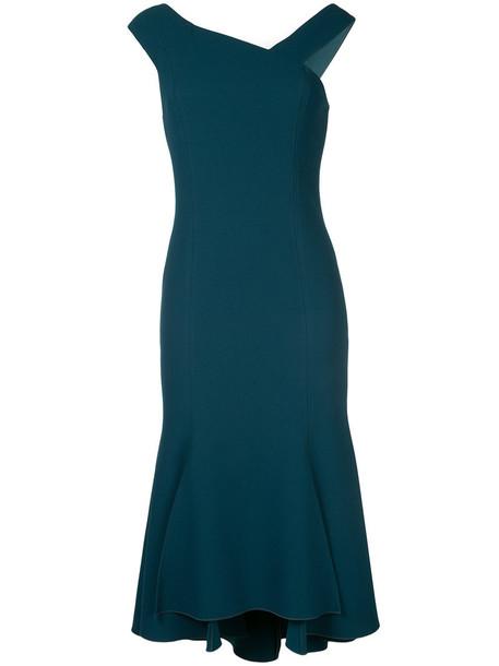 GINGER & SMART dress women spandex green