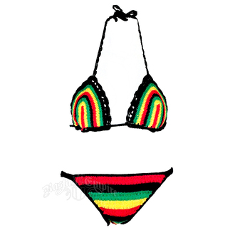 swimwear jamican crochet bikini