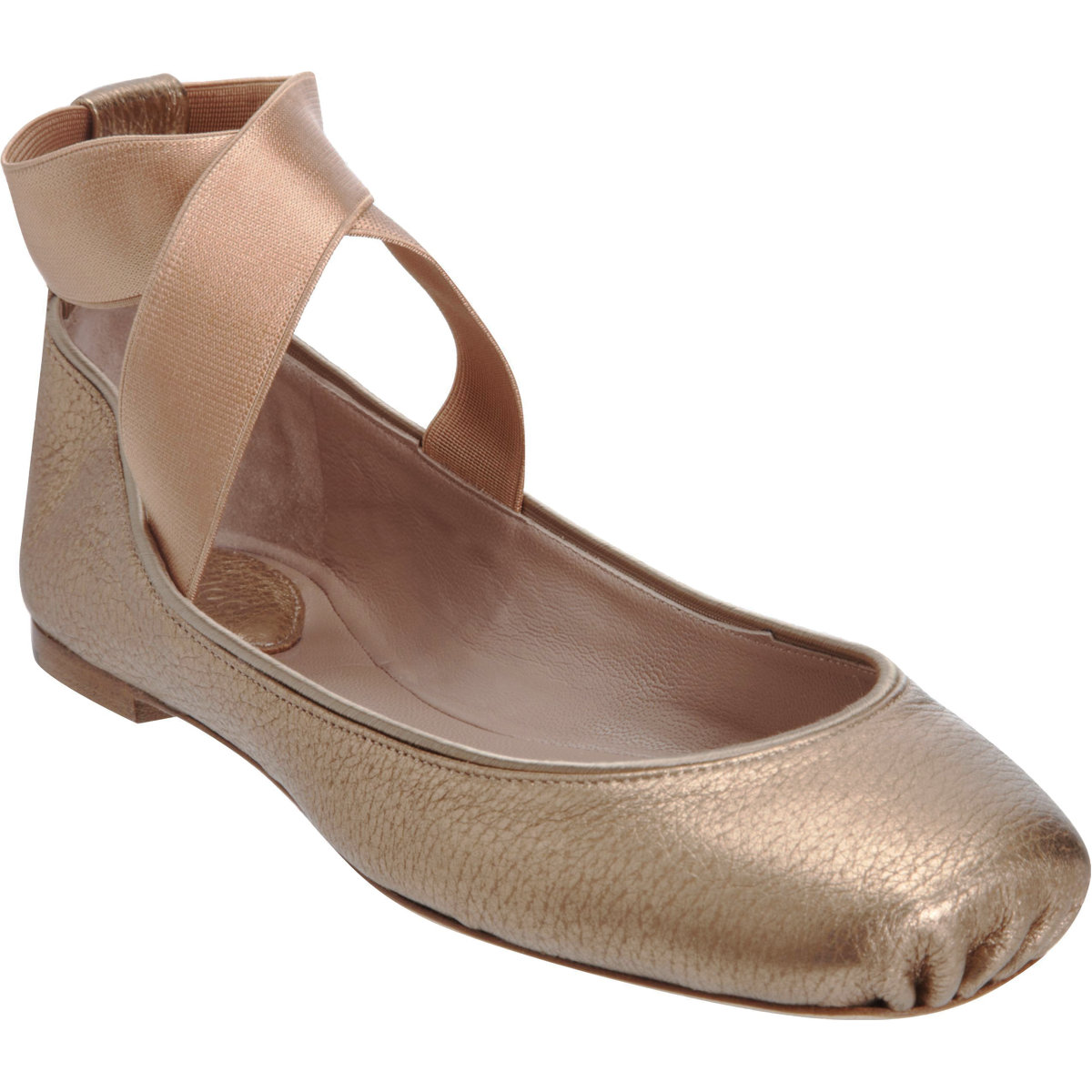 Chloé square toe ballerina flat at barneys.com