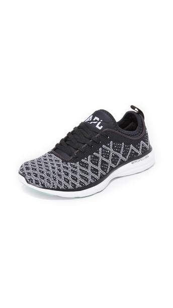 Apl: Athletic Propulsion Labs Techloom Phantom Sneakers - Black/White