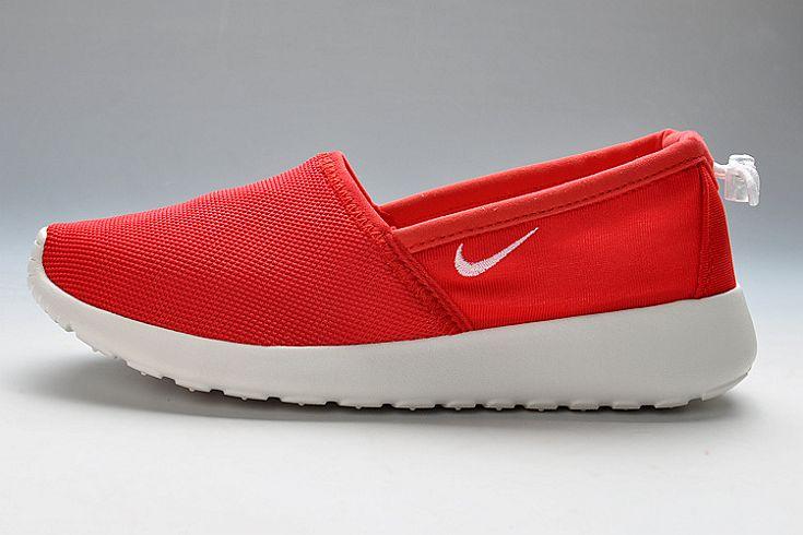 Sk748 Nike WMNS Roshe Run Slip On Varsity Red [NRRS004] - £39.00 :