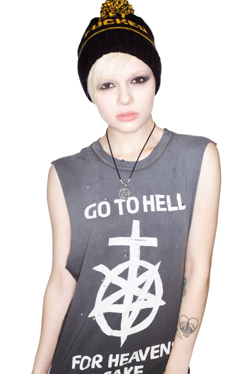 Unif go to hell tank top
