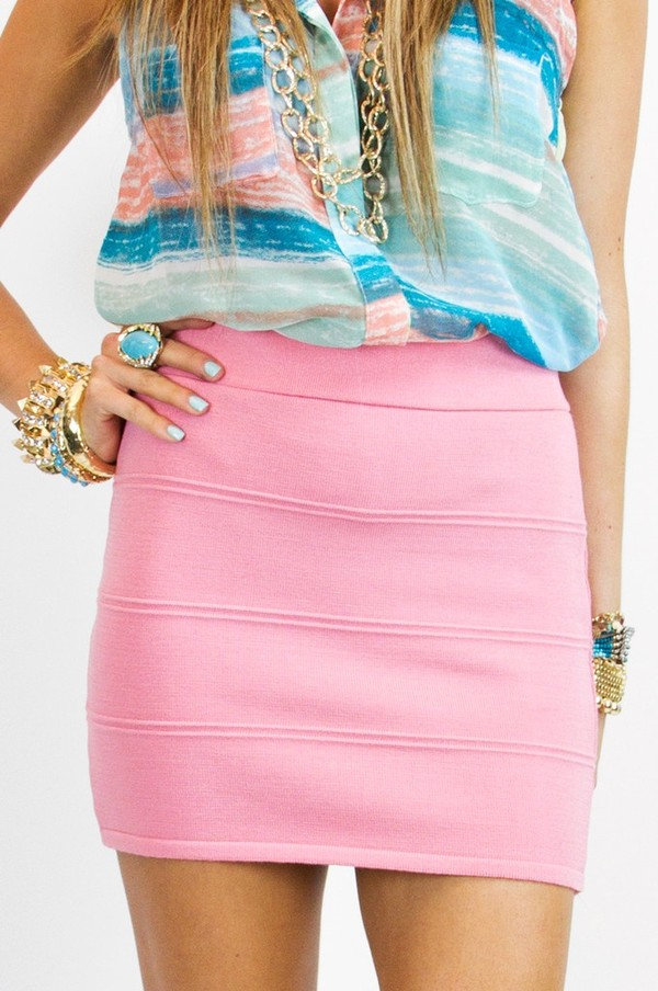 Light Pink Pencil Skirt - Shop for Light Pink Pencil Skirt on ...